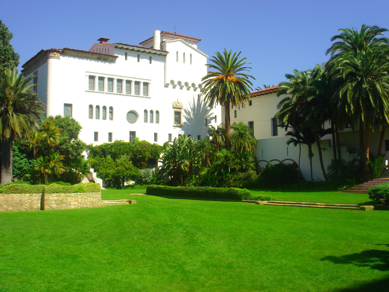 Santa Barbara County Courthouse, California, Summer 2008